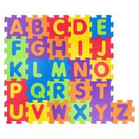 Penová podložka puzzle Abeceda 52 dielov Plastica