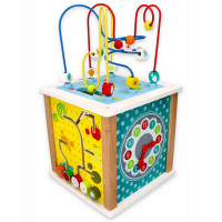 Edukačná kocka s labyrintom LELIN Activity Cube