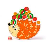 Drevená balančná hra Ježko WOODYLAND Balance game hedgehog