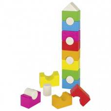 Drevené stavebné kocky GOKI Stalcking Tower
