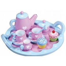 Detská čajová súprava drevená LELIN Heart Tea Set Preview