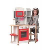 Detská drevená kuchynka Woodyland WENDY Big Red Kitchen
