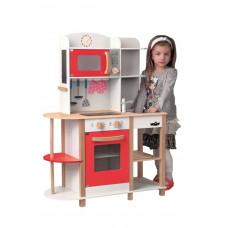 Detská drevená kuchynka Woodyland WENDY Big Red Kitchen Preview