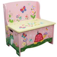 Detská lavica s úložným priestorom FANTASY FIELDS Magic Garden