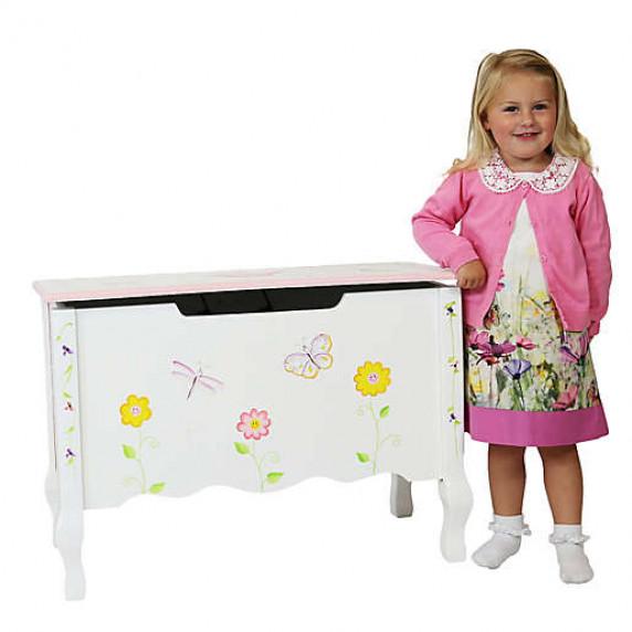 Detská lavica s úložným priestorom FANTASY FIELDS Princess & Frog