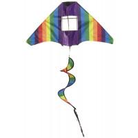 Lietajúci drak IMEX Tail Twister Kite - dúha