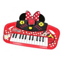 REIG 5259 Detské elektronické klávesy Minnie Mouse