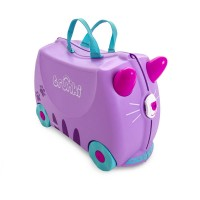 TRUNKI Cestovný kufrík - Mačička Cassey