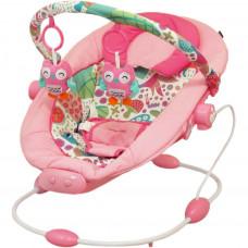 Detské lehátko Baby Mix dark pink Preview