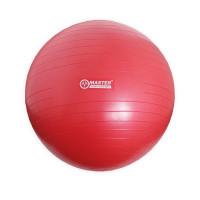 Gymnastická lopta MASTER Super Ball 75 cm - červená
