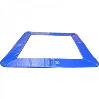 Kryt pružín MASTERJUMP na trampolínu  300x210 cm  - modrý