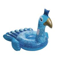 Nafukovacie lehátko BESTWAY Pretty Peacock - modrý páv