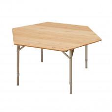 Kempingový skladací stôl KING CAMP Bamboo Color 100 x 100 x 60 cm Preview