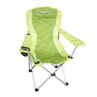 Kempingová skladacia stolička King Camp zelená