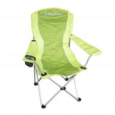 Kempingová skladacia stolička King Camp zelená Preview