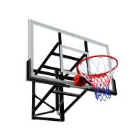 Basketbalová doska MASTER 140 x 80 cm s konštrukciou