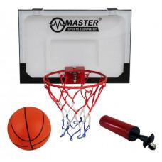 Basketbalový kôš s doskou MASTER 45 x 30 cm Preview