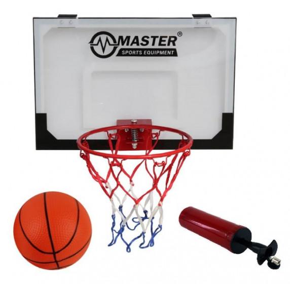 Basketbalový kôš s doskou MASTER 45 x 30 cm