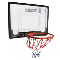 Basketbalový kôš s doskou MASTER 80 x 58 cm