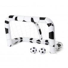 BESTWAY nafukovacia futbalová bránka 213 x 117 x 125 cm s dvoma loptami Preview