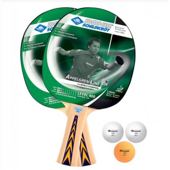 Set na stolný tenis DONIC Appelgren 400 set