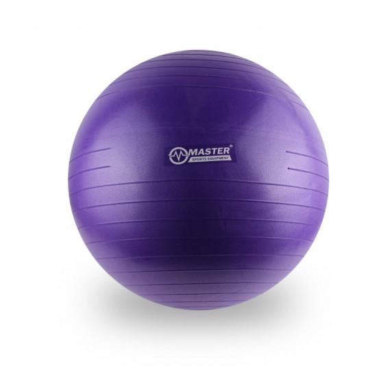 Gymnastická lopta MASTER Super Ball 55 cm - fialová