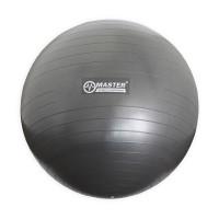 Gymnastická lopta MASTER Super Ball 65 cm - sivá