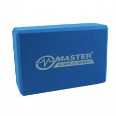Jóga kocka MASTER 23 x 15 x 7,5 cm - modrá Preview