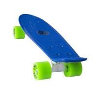 "MASTER Plastik Penny Board 22"" modrý"