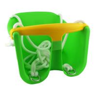 Hojdačka plastová baby CHEVA Baby plast - zelená