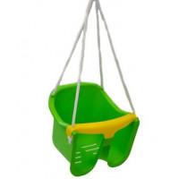 Hojdačka plastová baby - zelená