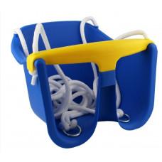 Hojdačka plastová baby CHEVA Baby plast - modrá Preview