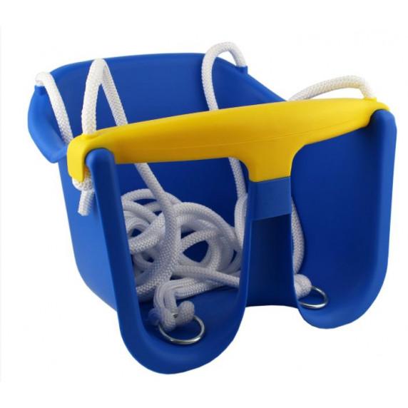 Hojdačka plastová baby CHEVA Baby plast - modrá