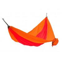 Hojdacia sieť KING CAMP Parachute 270 x 130 cm - oranžovo-červená