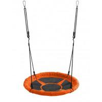 Záhradná hojdačka SPARTAN Fun Ring 95 cm - oranžová