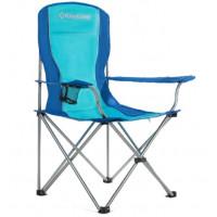 Kempingová skladacia stolička King Camp modrá