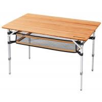 Kemping stôl KING CAMP Bamboo 100 x 65 cm