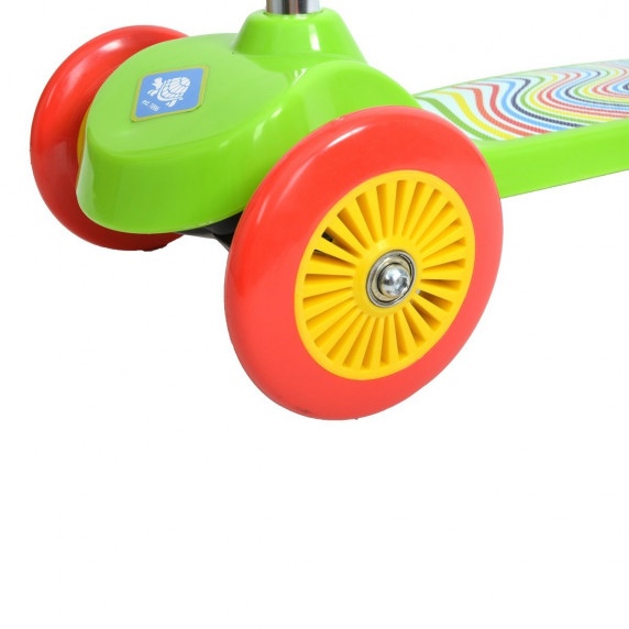 Detská trojkolesová kolobežka SCHILDKROT Little 1 - zelená