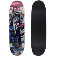 SPARTAN Skateboard Circle Star - Cold