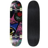 SPARTAN Skateboard Circle Star - Juice