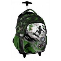 Školská taška na kolieskach PASO Maui Skate 45 x 29 x 24 cm