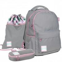 Školský set PASO Barbie - školská taška + peračník + vak na telocvik