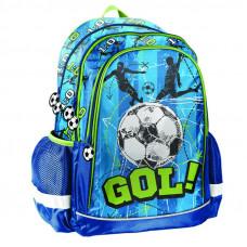 PASO školská taška GOL! 42 x 30 x 18 cm - Modrá Preview