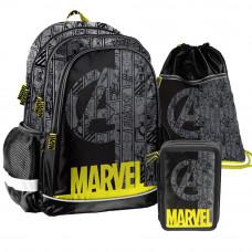 PASO školský set Marvel - školská taška + peračník + vak na telocvik Preview