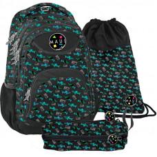 PASO školský set MAUI OCEAN - školská taška + peračník + vak na telocvik Preview