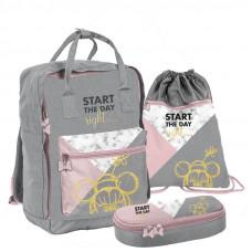 PASO školský set MINNIE GREY - školská taška + peračník + vak na telocvik  Preview