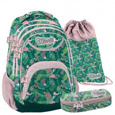 PASO školský set MINNIE TROPICAL - školská taška + peračník + vak na telocvik Preview