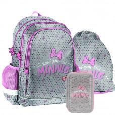 PASO školský set MINNIE Bow-you-tiful - školská taška + peračník + vak na telocvik Preview