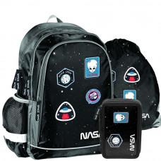 PASO školský set NASA - školská taška + peračník + vak na telocvik Preview