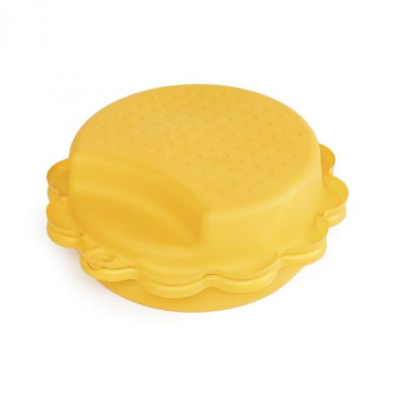 Dvojstranné pieskovisko v tvare slnečnice - Žlté Inlea4Fun